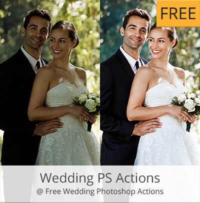 acciones photoshop gratis wedding