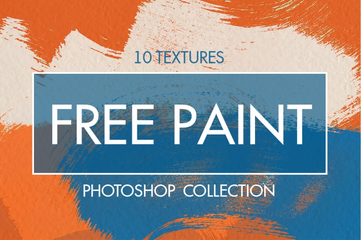 free paint textures for photoshop poster bright colors