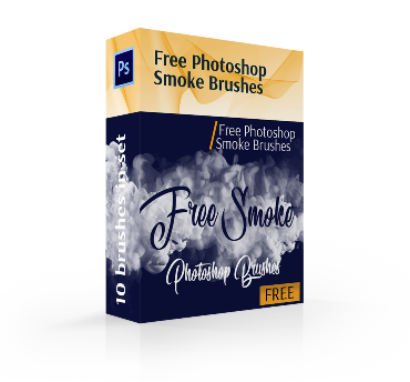 free photoshop smoke brushes cover box