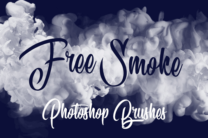 free photoshop smoke brushes poster smoke