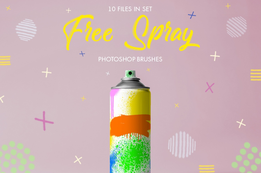 free spray paint brushes photoshop free poster blue spot
