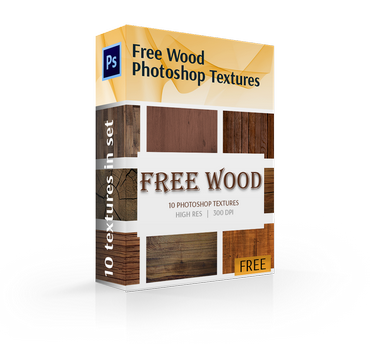 free wood texture photoshop cover box