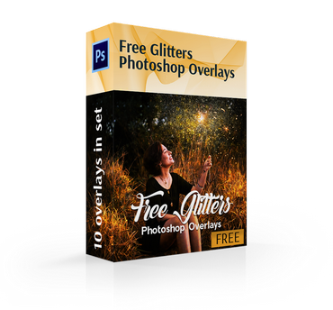 free glitter overlays for photoshop cover box