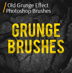 free spray paint brushes photoshop old grunge effect photoshop cover