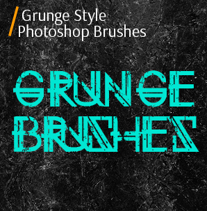 free grunge photoshop brushes grunge style photoshop brushes cover