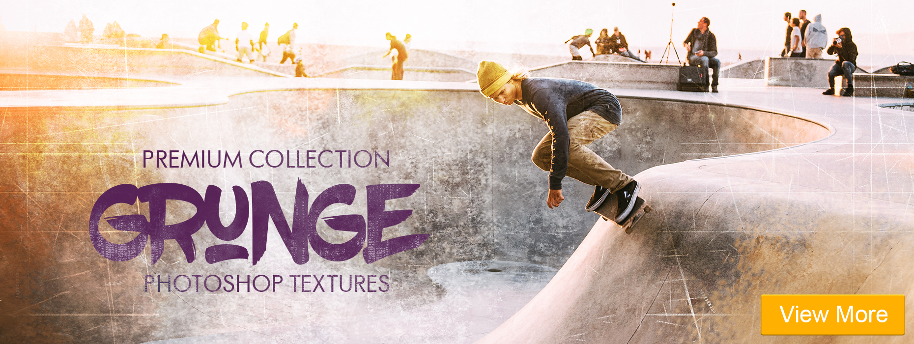 grunge effect photoshop free vintage portrait lightroom presets banner girl