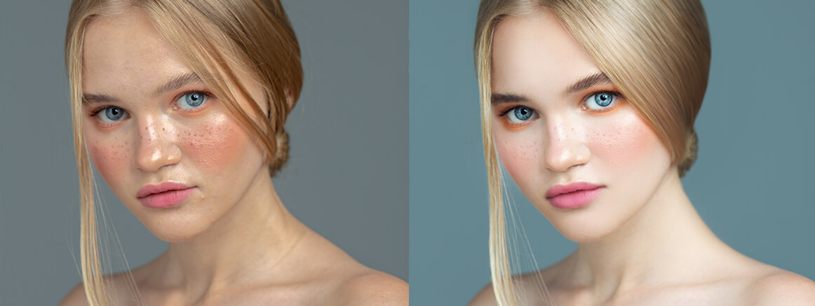 digital headshot retouching photoshop