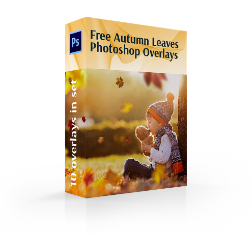 Leaves Overlay Photoshop Free|Falling Leaves Overlay for Photoshop Free