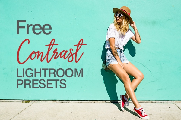 presets lightroom high contrast free poster water