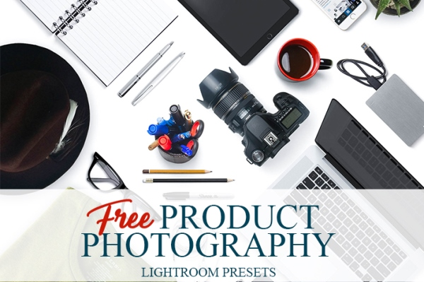 free lightroom presets for product photography poster