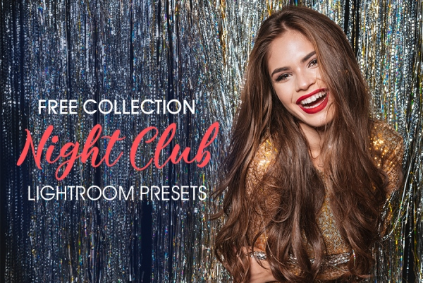 free lightroom presets for nightclub photography poster concert