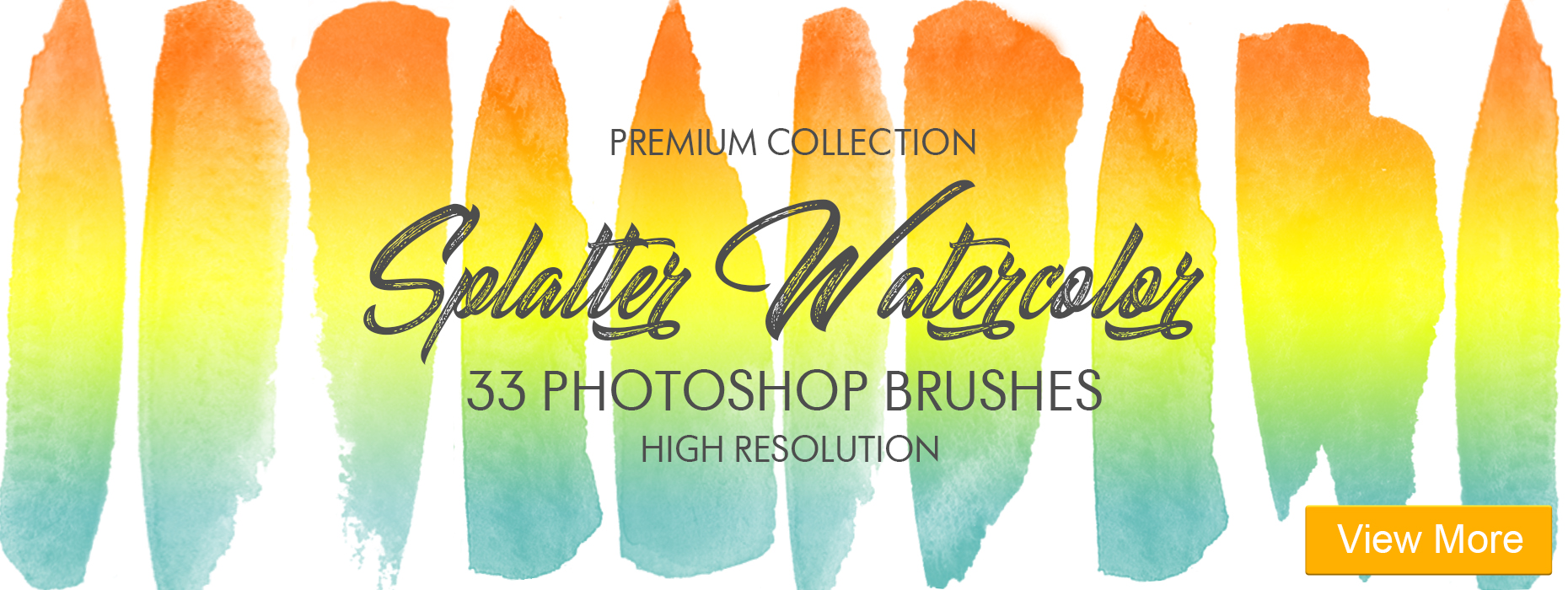 free spray paint brushes photoshop splatter watercolor 33 brushes banner