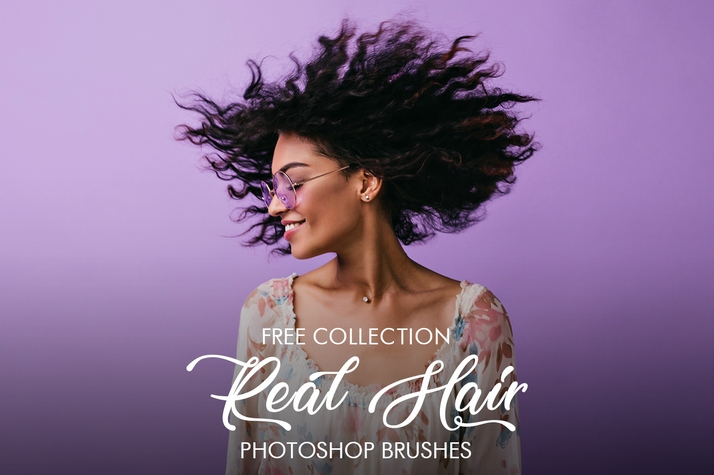 free photoshop Hair brushes free poster