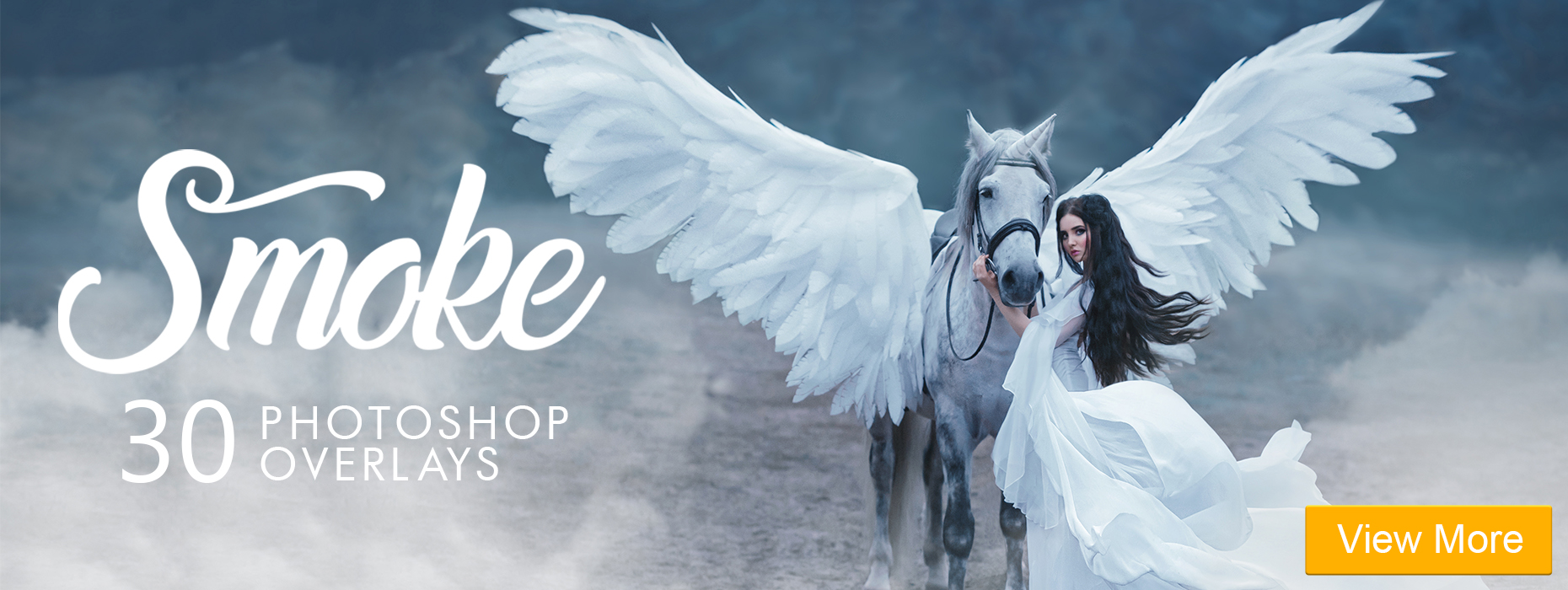 free fog overlays for photoshop smoke photoshop overlays banner girl and horse