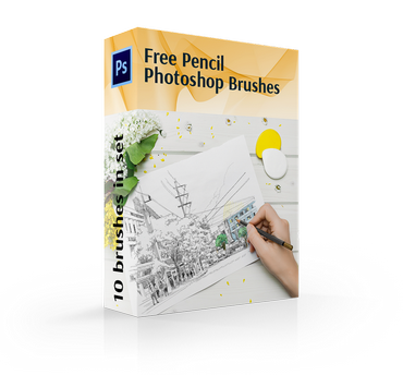 free photoshop circle brushes cover box