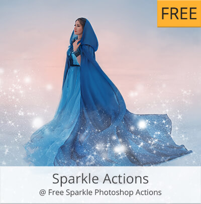 sparkle acciones photoshop gratis