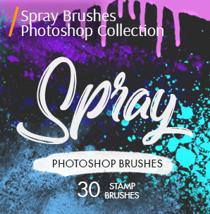 free grunge photoshop brushes spray brushes photoshop cover