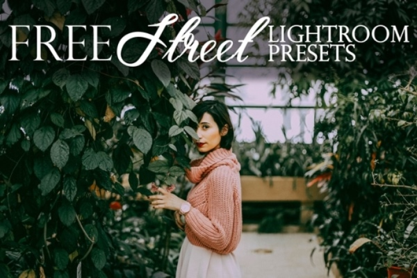 street photography lightroom presets free poster girl