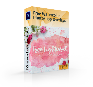 watercolor overlay cover box
