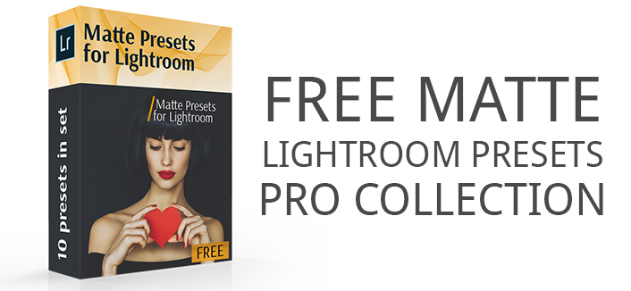 Free Matte Lightroom Presets
