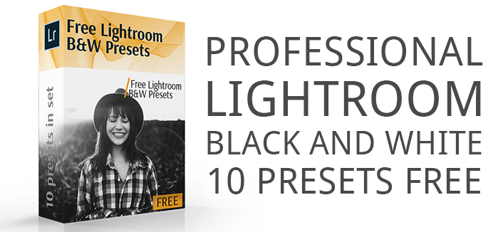 Professional Lightroom Black and White Presets Free