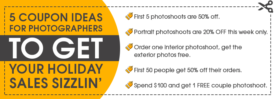coupon ideas for photographers