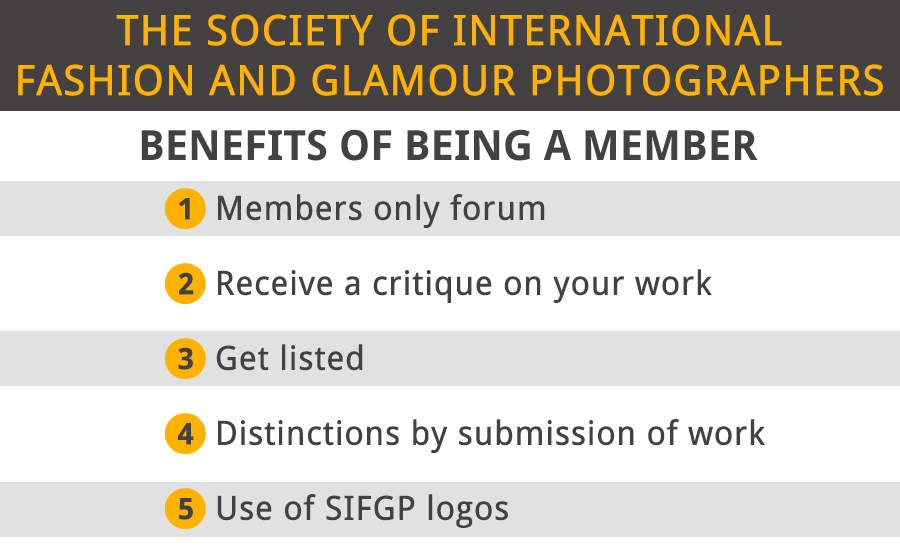 the society of international fashion and glamour photographers benefits