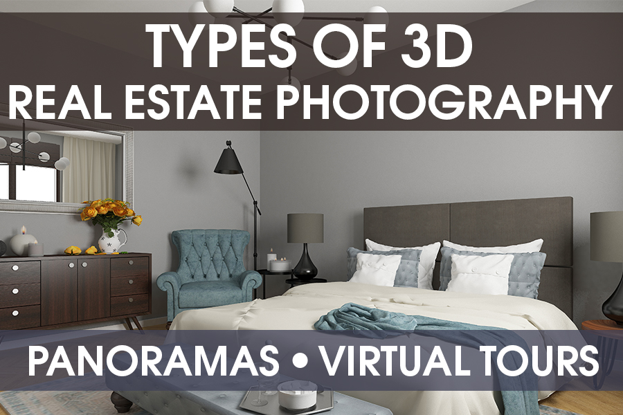 3D real estate photography types