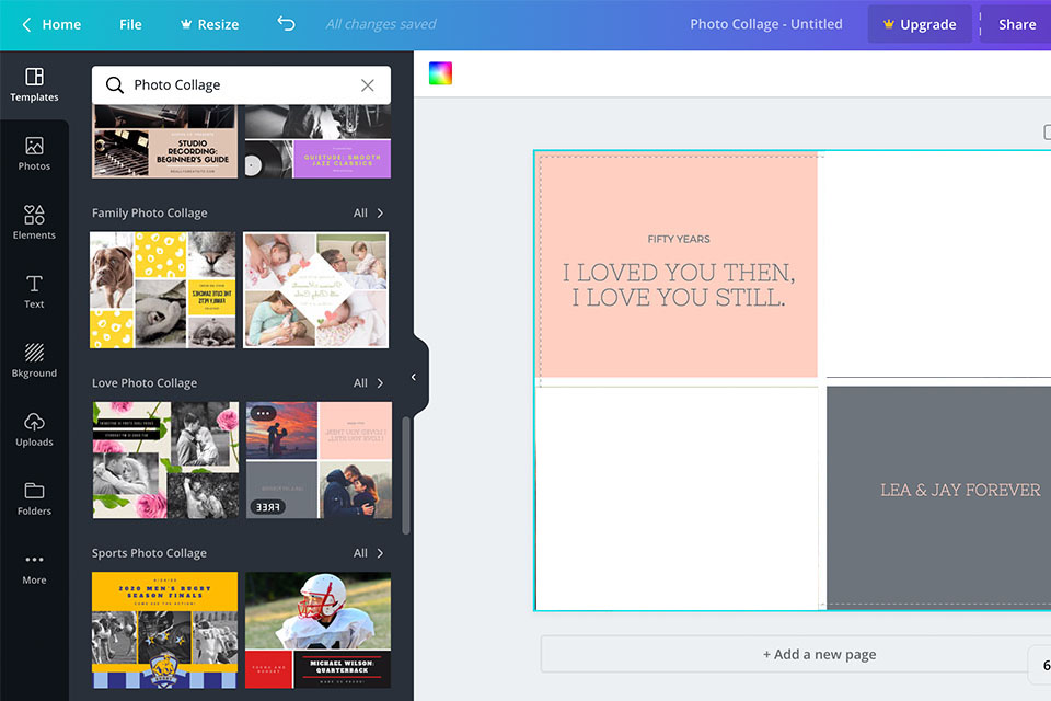 canva free photo editor
