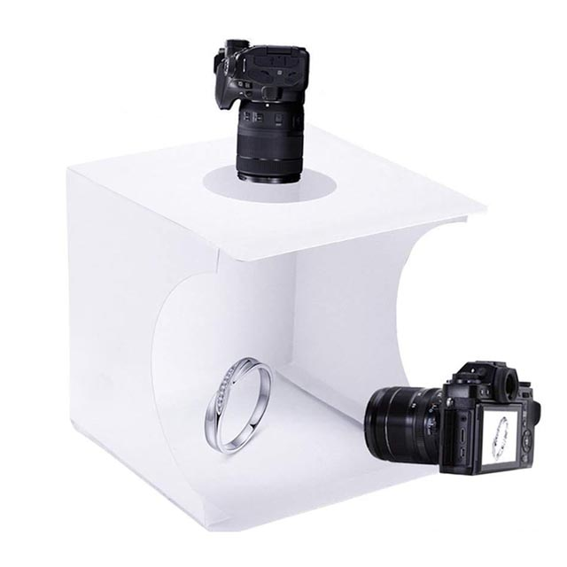 light box for jewelry photography