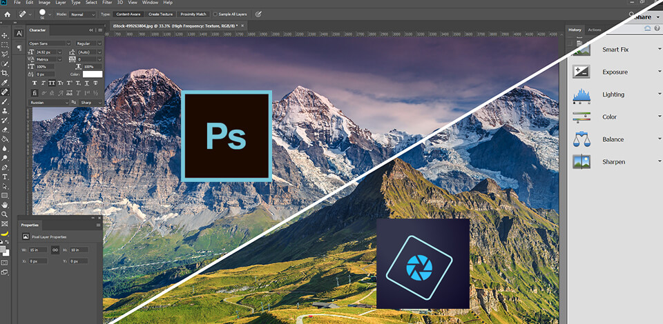 photoshop elements vs photoshop