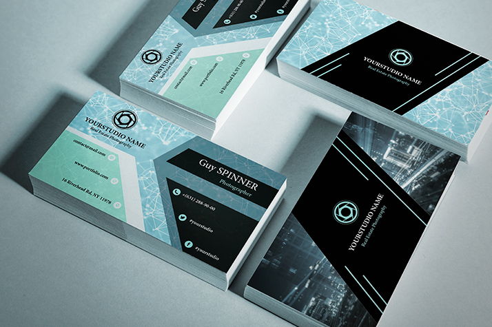 Real estate photography business cards 20 free designs mockup card photo 9 download free real estate photography business card reheart Images
