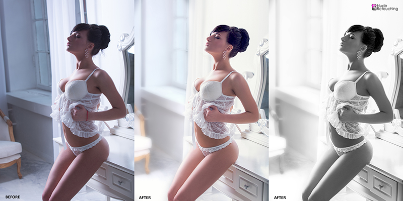 before-and-after-retouching-bw