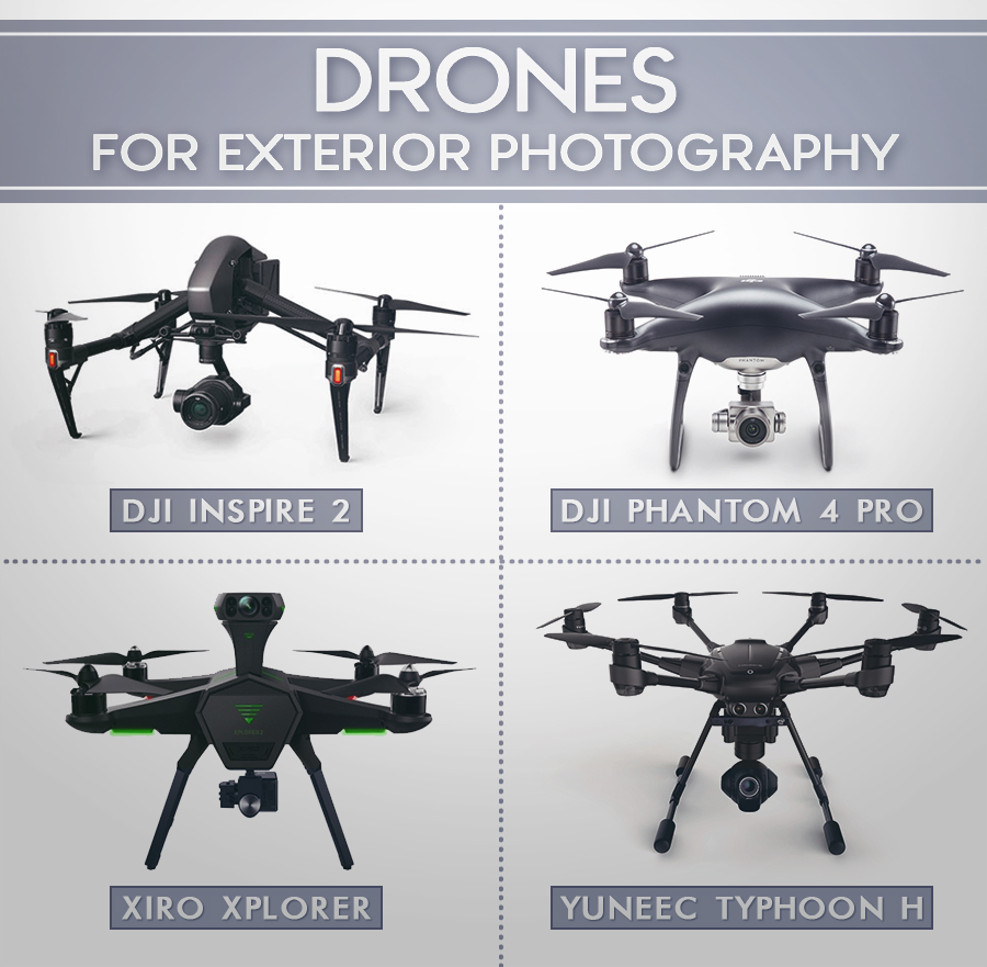 best drone for real estate photography exterior