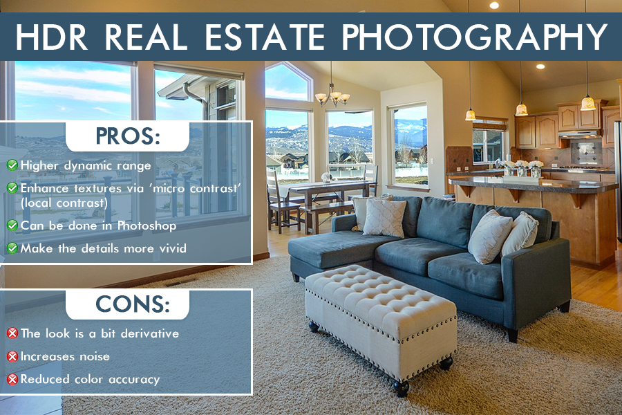 hdr real estate photography pros cons