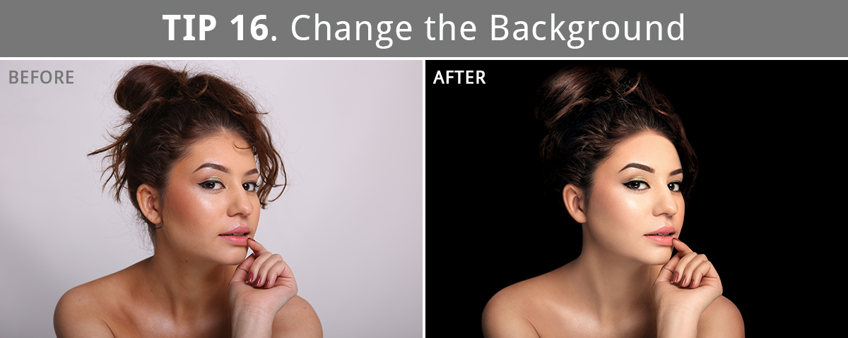 high end retouching before after