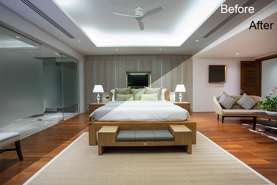 interior photography bedroom