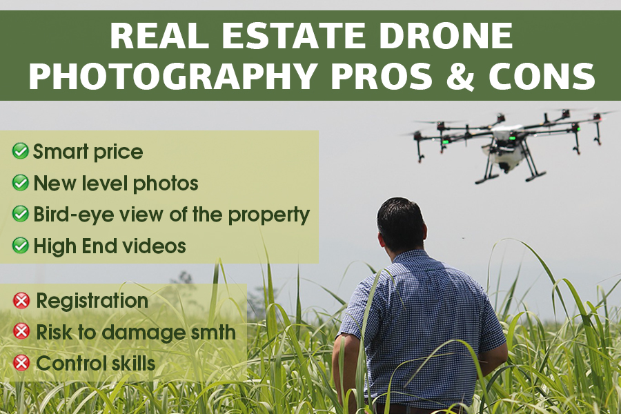 real estate aerial photography pros cons