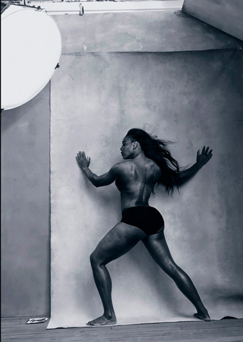Serena Williams photo by Amu Schumer without body retouching