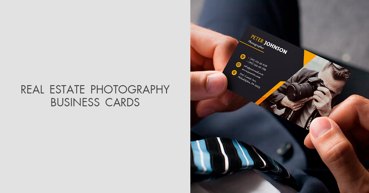 Real estate photography business cards 20 free designs colourmoves
