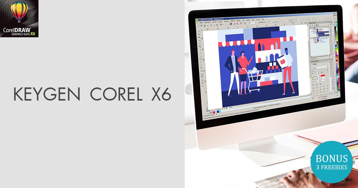 Keygen corel draw x6 gratis