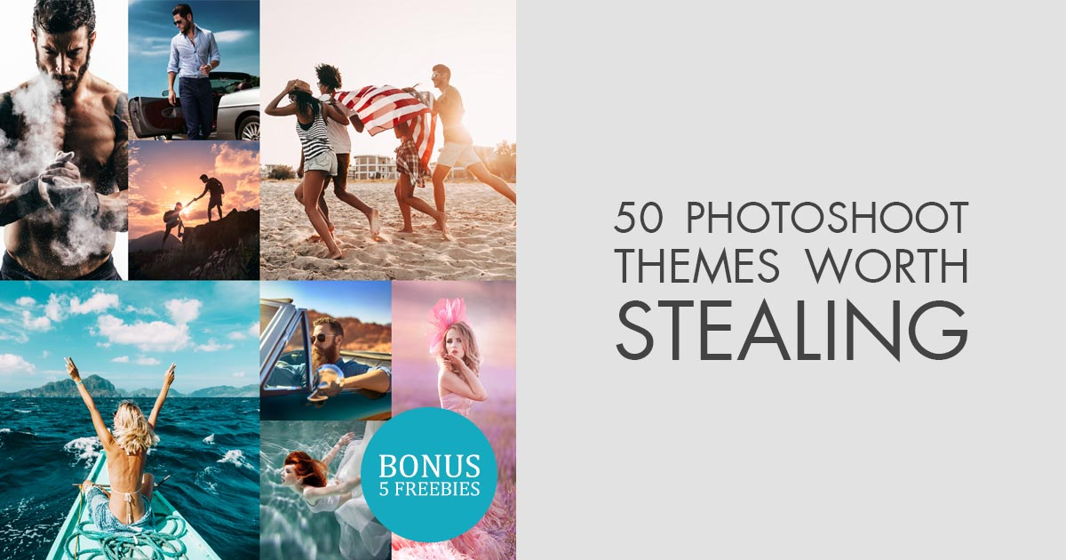 50 Photoshoot Themes To Try Freebies For Your Photoshoot