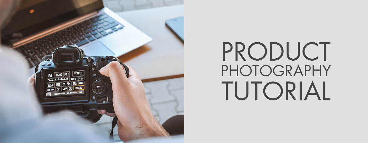 Product photography tutorial