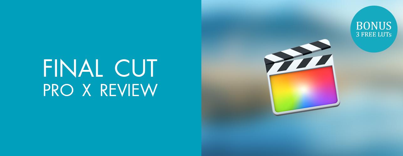 Final Cut Pro X Review