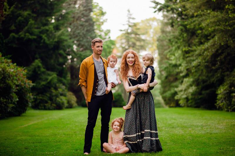 5 Consigli per Scattare Ritratti di Famiglia Naturali