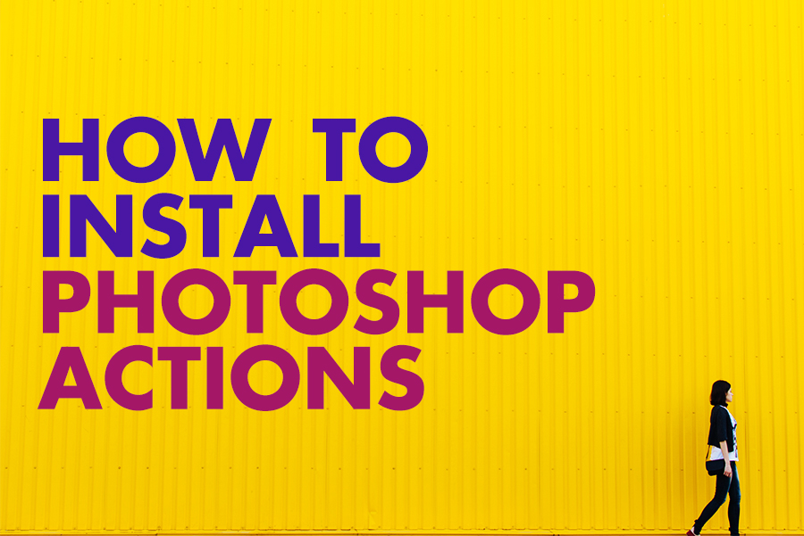 how to install photoshop actions blog