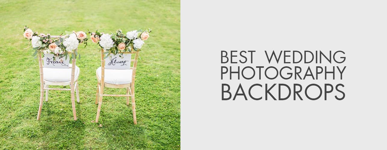 Wedding Photography Backdrop