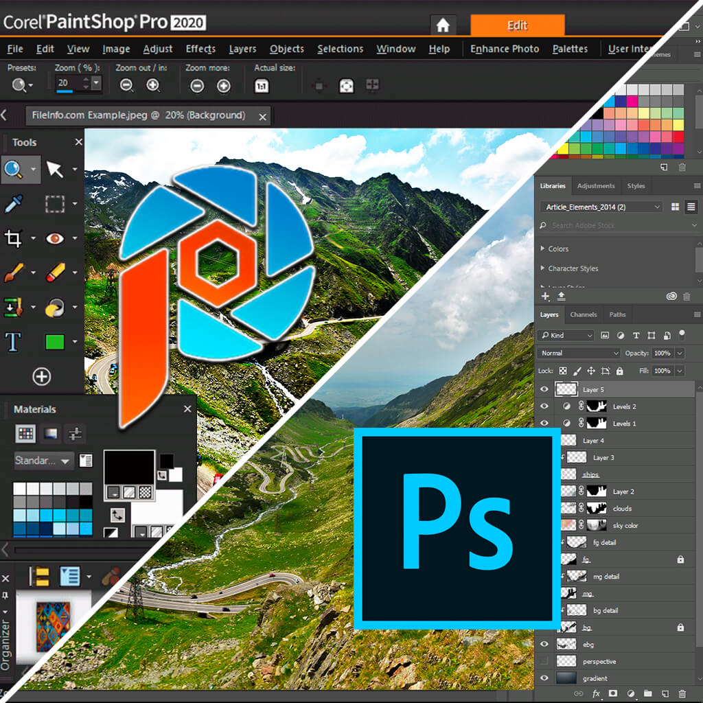 Paintshop Pro Vs Photoshop 2021 What Is Better