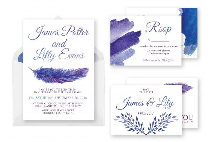 Wedding Invitation Cards Templates Photoshop Wedding