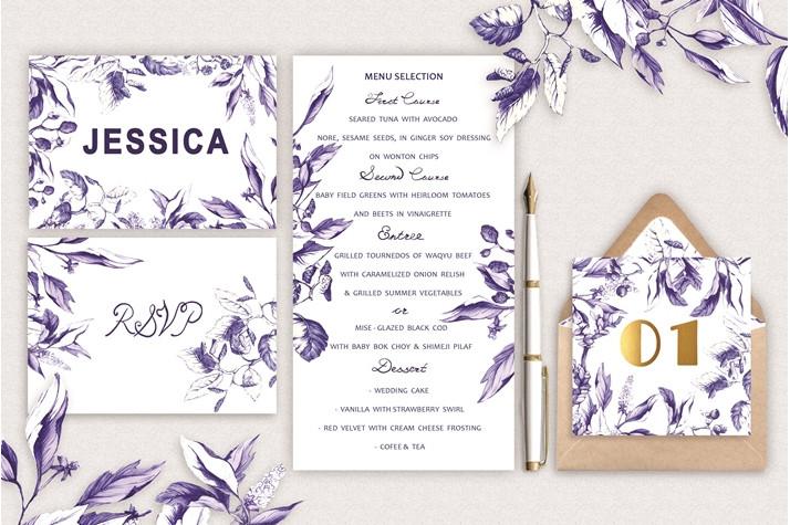 Wedding Invitation Template Psd